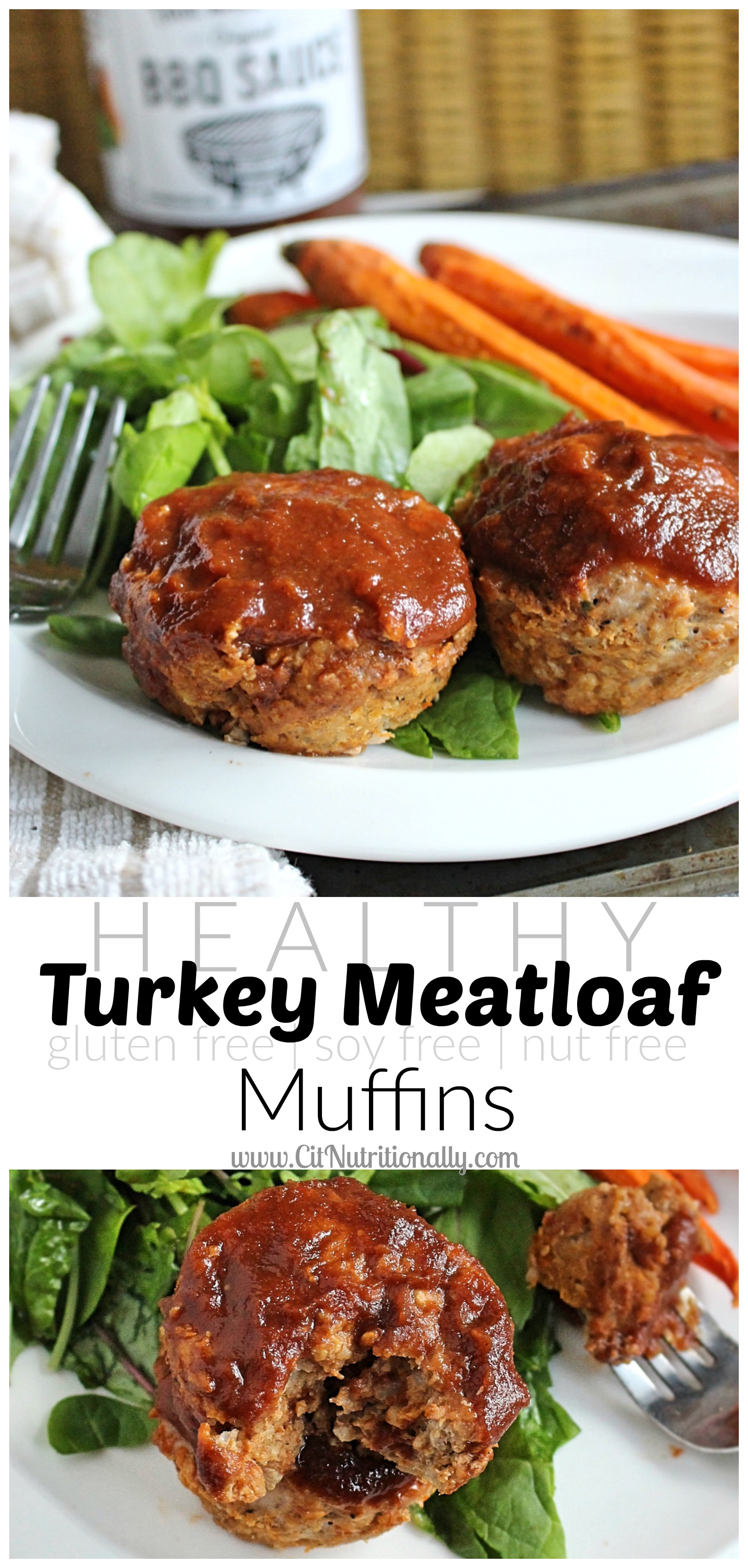 Gluten Free Healthy Turkey Meatloaf Muffins {Frugal Friday Week 6} | C it Nutritionally