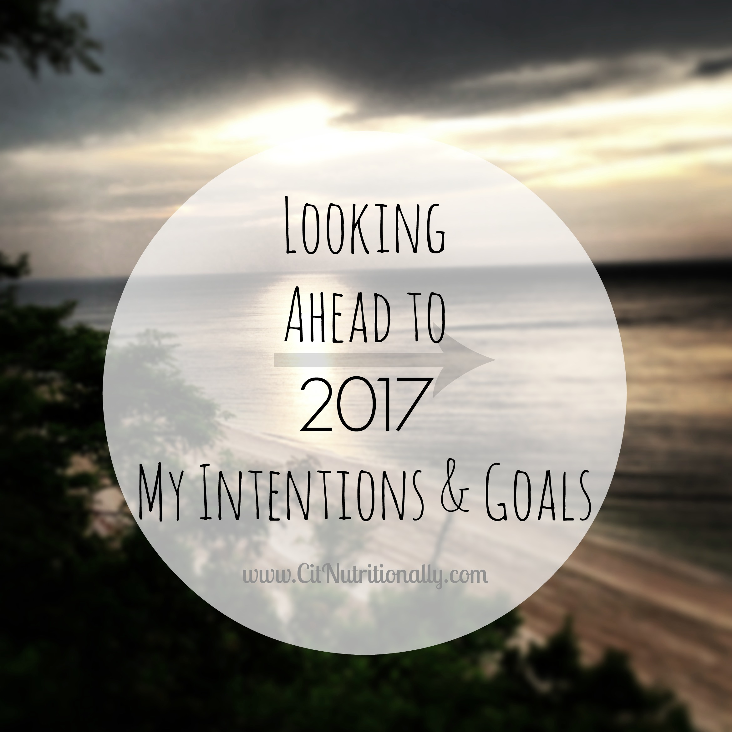 Looking Ahead to 2017: My Intentions and Goals | C it Nutritionally