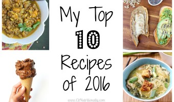 Your 5 Favorite Recipes of 2016 + 5 of My Favorites You Need to Try
