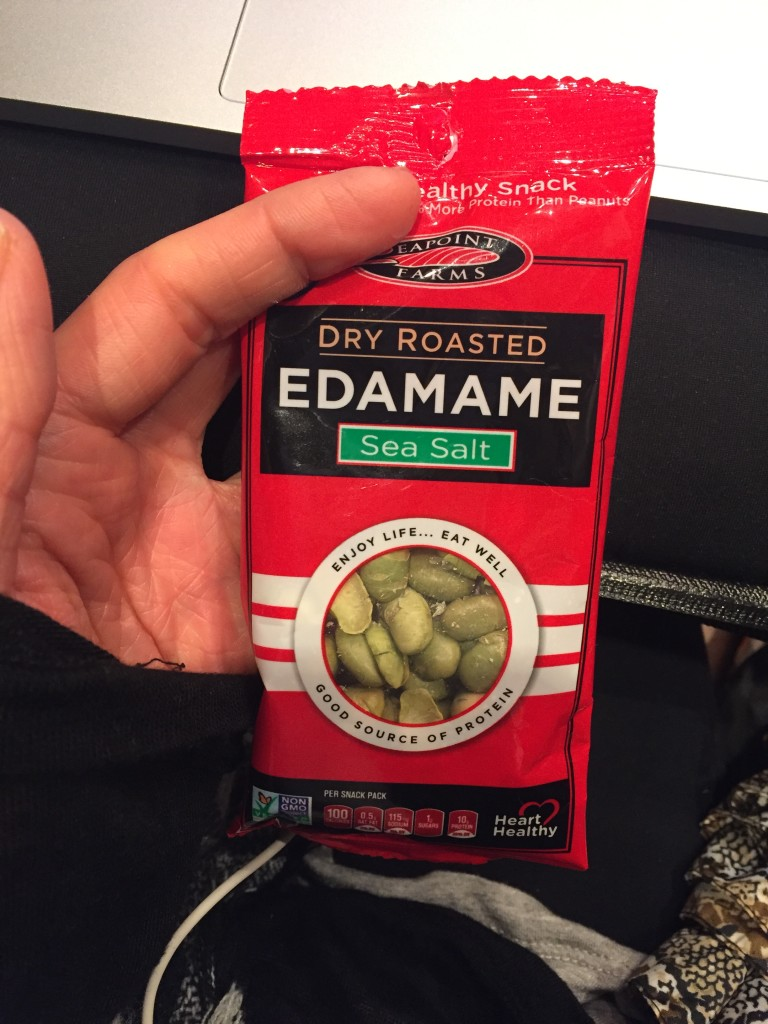 Snack time with my favorite Crispy Roasted Edamame! What I Ate Wednesday 50 | C it Nutritionally