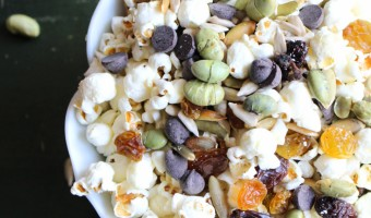 The Best Nut Free Snack Mix