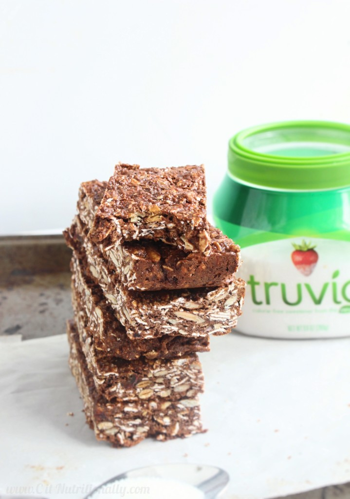 #ad Protein-Packed Nut Free Chocolate Granola Bars | C it Nutritionally