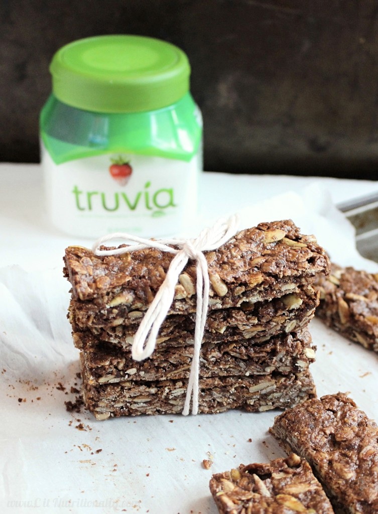 #ad Protein-Packed Nut Free Chocolate Granola Bars   C it Nutritionally