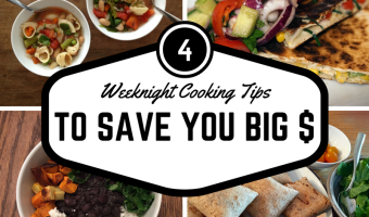 4 Weeknight Cooking Tricks That Will Save You Big Bucks {Frugal Friday 9}