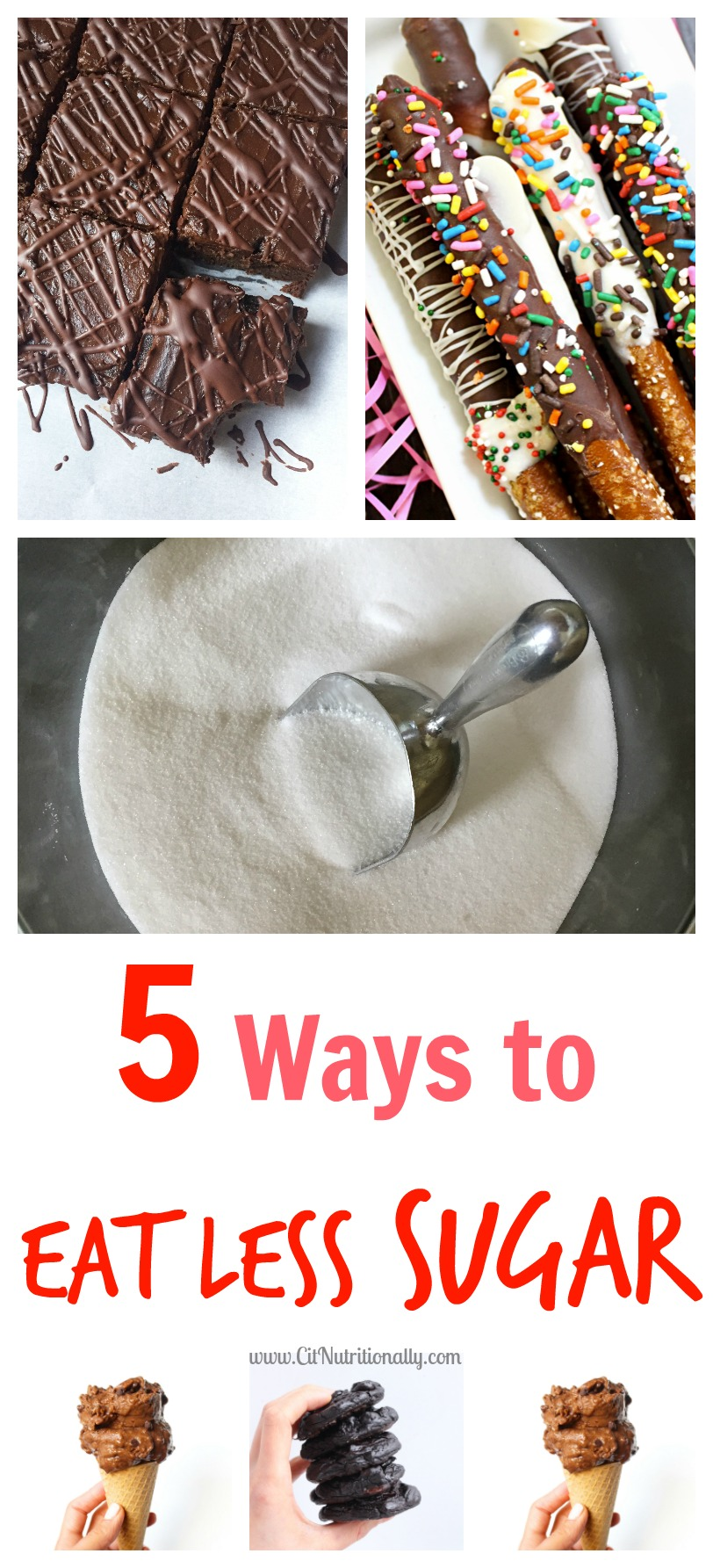 What I Learned from My Sugar Detox + 5 Ways to Eat Less Sugar | C it Nutritionally