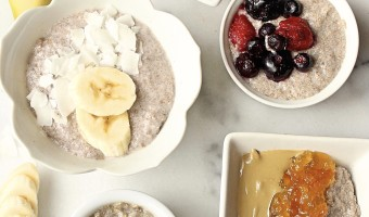 Basic Chia Pudding, 4 Ways + Video!