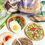 Customizable Breakfast Pita Pizza – 4 Ways