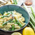 Spring Pasta with Asparagus and Peas