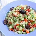 20-Minute Dairy Free Greek Quinoa Salad