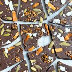 Nut Free Superfood Chocolate Bark