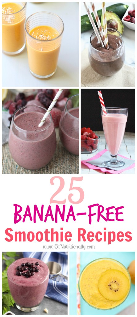 25 Banana-Free Smoothie Recipes | C it Nutritionally