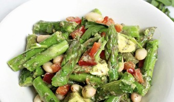 Easy Asparagus White Bean Salad
