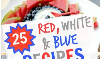 25 Healthy Red, White and Blue Recipes for July 4th