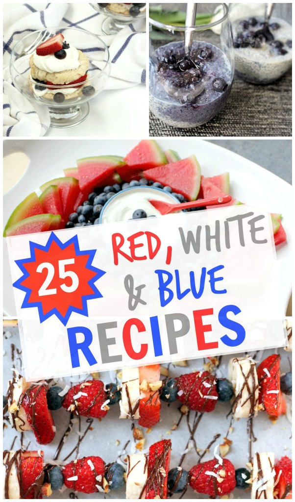 25 Healthy Red, White and Blue Recipes for July 4th | C it Nutritionally