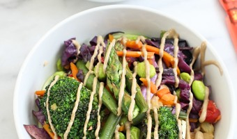 Sunflower Seed Butter Sauce Veggie Stir Fry
