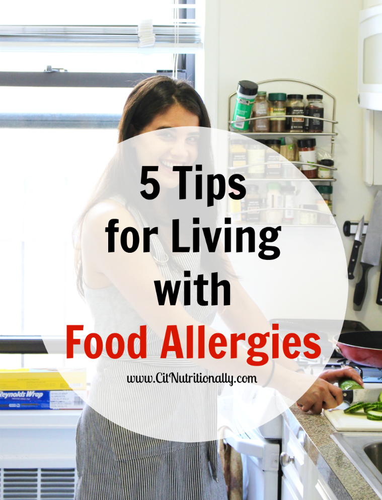 5 tips for living w food allergies title