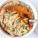 5-Ingredient Pumpkin Pie Overnight Oats