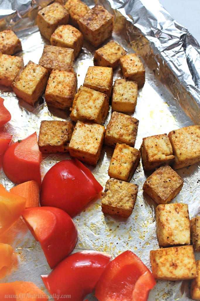 Sheet Pan Tofu Stir Fry | C it Nutritionally