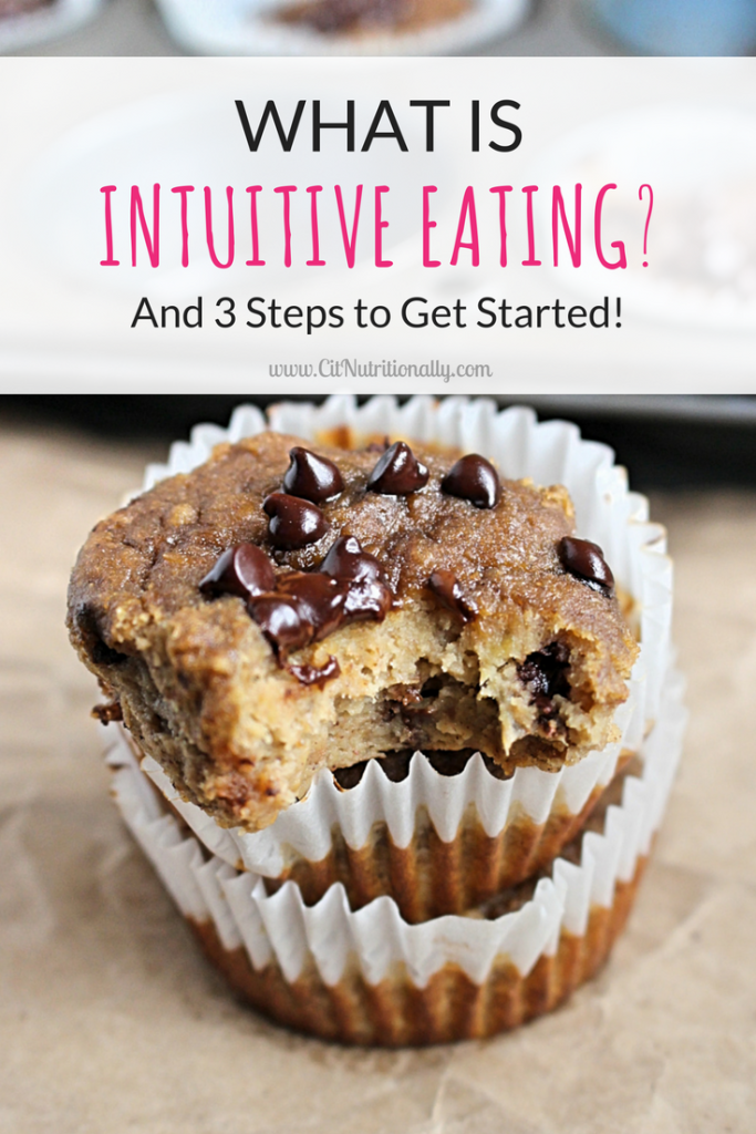 What is Intuitive Eating? | C it Nutritionally