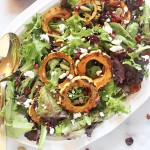 Sweet and Savory Delicata Squash Salad