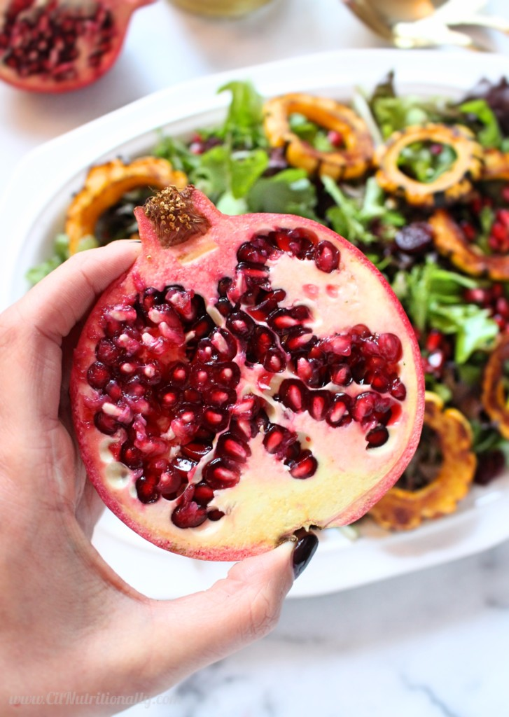 Sweet and Savory Delicata Squash Salad | C it Nutritionally