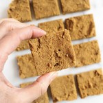 Gluten Free Chai-Spiced Pumpkin Blondies