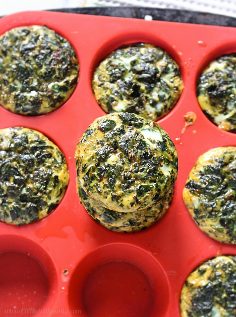 2 Ingredient Egg Muffins | C it Nutritionally by Chelsey Amer, MS, RDN Make breakfast the easiest meal of the day with these 2 Ingredient Egg Muffins -- full of protein and fiber to keep you full all morning long! Gluten Free, Dairy Free, Nut Free, Soy Free, Grain Free