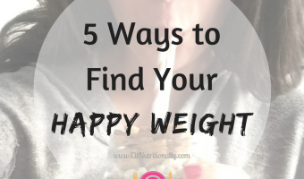 5 Ways To Find Your Happy Weight
