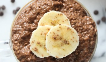 5 Ingredient Chunky Monkey Chia Pudding