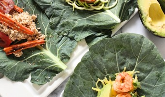 Easy Collard Wraps