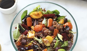 Easy Roasted Vegetable and Quinoa Salad